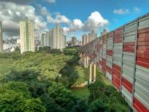 Scena urbana da sopra fotografie stock libere da diritti