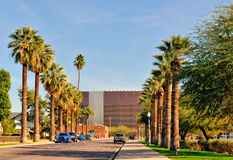 Scena urbana del centro di Phoenix Immagine Stock