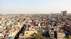 Scena urbana dell'India Fotografie Stock Libere da Diritti