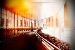 Scena urbana della via Fotografie Stock Libere da Diritti