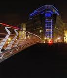 Scena urbana nella notte Fotografie Stock Libere da Diritti