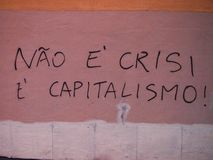 Scena urbana prospera di arte della via e dei graffiti a Lisbona, Portogallo, 2014 Fotografia Stock