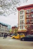 Scena urbana a Williamsburg, Brooklyn Immagine Stock