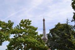 Scena wieża eifla w Paryż Zdjęcia Stock