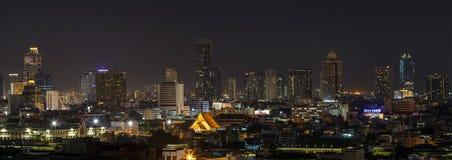 Scena wieżowowie Bangkok Tajlandia Zdjęcia Royalty Free