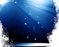 Scena z światłem reflektorów Zdjęcie Royalty Free