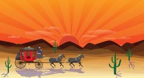 scena zachodniej ilustracji