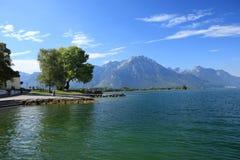 Scenary em Swissland Fotografia de Stock