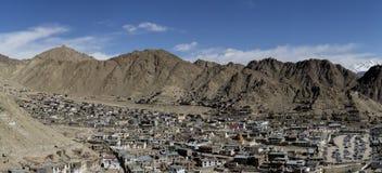 Scenary panorama Leh w Ladakh, India Obrazy Royalty Free