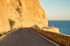 Scenci coastal road Stock Photos