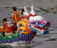 Scene from the 2012 Dragon Boat Royalty Free Stock Photo