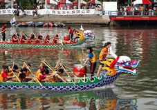 Scene from the 2012 Dragon Boat Races Stock Photo
