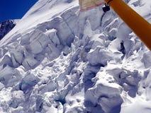 Scene from Abel Tasman Glacier Stock Photo