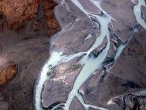 Scene from Abel Tasman Glacier Stock Image