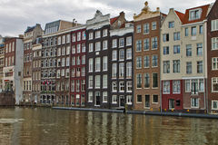 Scene in Amsterdam,Holland Royalty Free Stock Photography