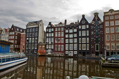 Scene in Amsterdam,Holland Stock Image