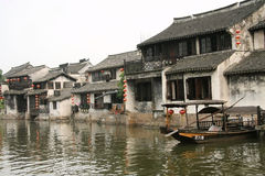The scene of  ancient town xitang,jiashan county,zhejiang Royalty Free Stock Images