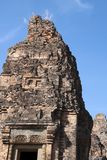 View of tower at Pre Rup a 10th century hindu temple. Scene around the Angkor Archaeological Park. The site contains the remains of the different capitals of the Royalty Free Stock Photo