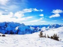 Scene Austria di inverno Fotografie Stock