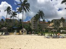 A scene from The Bahamas Royalty Free Stock Photo