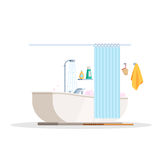 Scene is a bathroom Royalty Free Stock Image