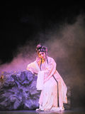 A scene of beijing opera Royalty Free Stock Photo