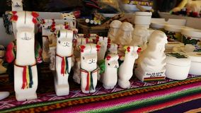 Bolivia Market Trinkets 3.mp4. Scene from Boliva South America Slow  Motion of trinkets and market items stock footage