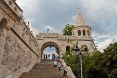 Scene in Budapest,Hungary Royalty Free Stock Photo