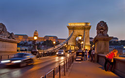 Scene  in , Budapest Hungary Royalty Free Stock Photo