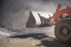 Scene of a building site Royalty Free Stock Photos