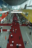 Scene of Canton Fair Complex Royalty Free Stock Image