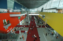 Scene of Canton Fair Complex Stock Photo