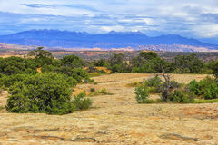 Scene from Canyonlands National Park, Utah Stock Image