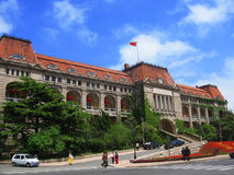 Scene of China. Qingdao is a beautiful city with long coastline and many Germanic style architecture stock photography