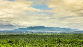 Scene of Chom Thong mountain, Thailand Royalty Free Stock Images