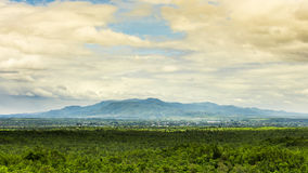 Scene of Chom Thong mountain, Thailand Royalty Free Stock Photography