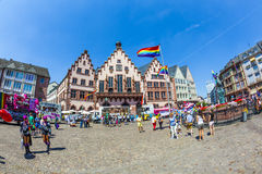 Scene at the Christopher Street Day 2014 in Frankf Royalty Free Stock Image