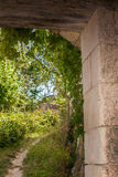Scene in Crissay Sur Manse, village in the Loire Valley Royalty Free Stock Images