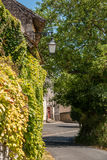 Scene in Crissay Sur Manse, village in the Loire Valley Royalty Free Stock Photos