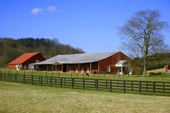 Scene dell'azienda agricola del Tennessee Immagini Stock Libere da Diritti