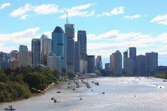 Scene della città di Brisbane fotografia stock libera da diritti