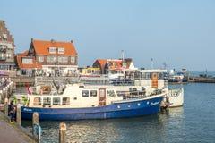 Scene della città di Volendam Fotografie Stock