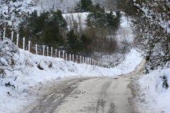 Scene della neve Fotografia Stock