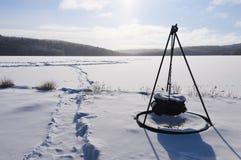 Scene di inverno immagine stock