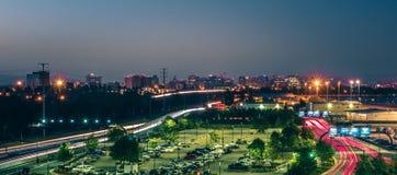 Scene di primo mattino al airpor dell'internazionale di San Jose California Fotografia Stock Libera da Diritti