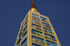 Scene di vita di Buddha Immagini Stock