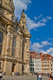 Scene in Dresden,Germany Royalty Free Stock Images