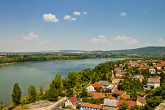 Scene  in ,Esztergom Hungary Stock Photography
