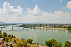 Scene  in ,Esztergom Hungary Stock Images