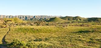 Scene in Flinders Ranges Australia Stock Photo